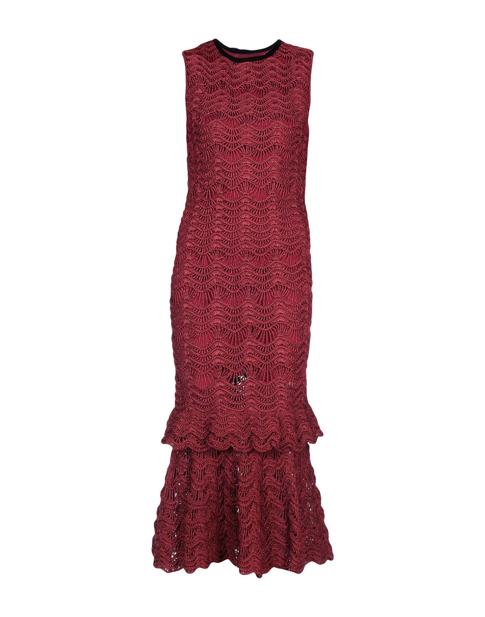 CAROLINA HERRERA Платье длиной 3/4 carolina herrera платье в пол