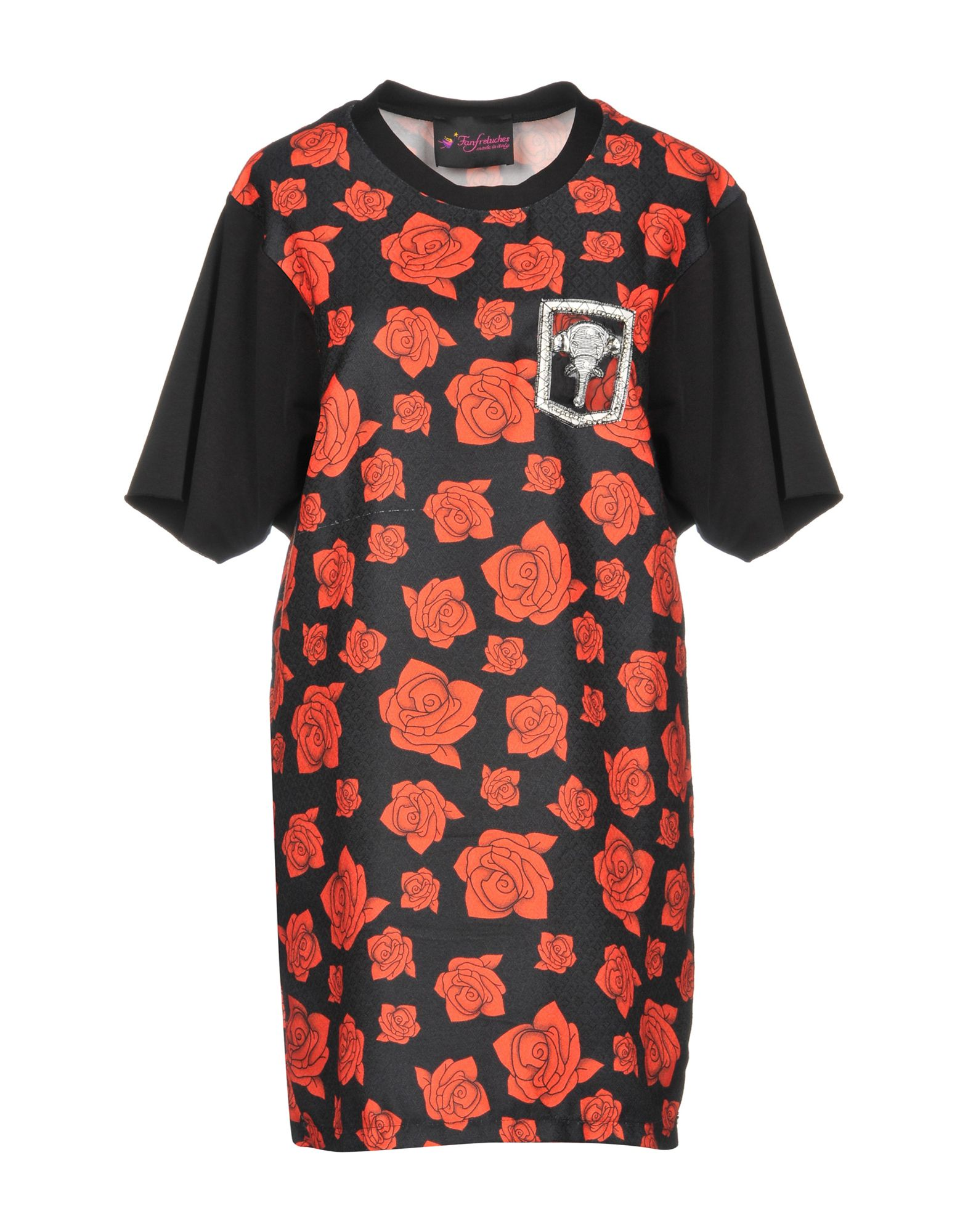 FANFRELUCHES Короткое платье цена 2017