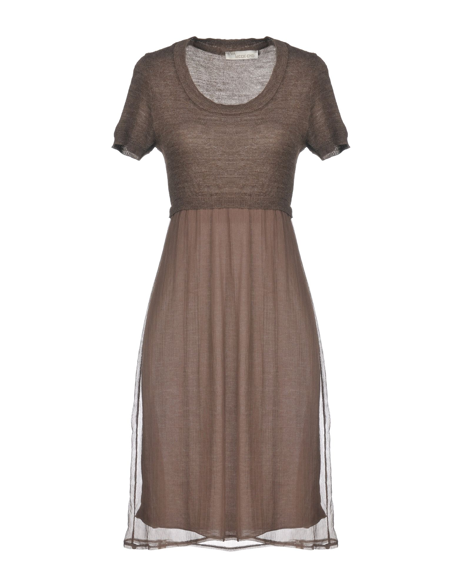 EVA WEEK-END Короткое платье платье eva eva mp002xw0zzcd