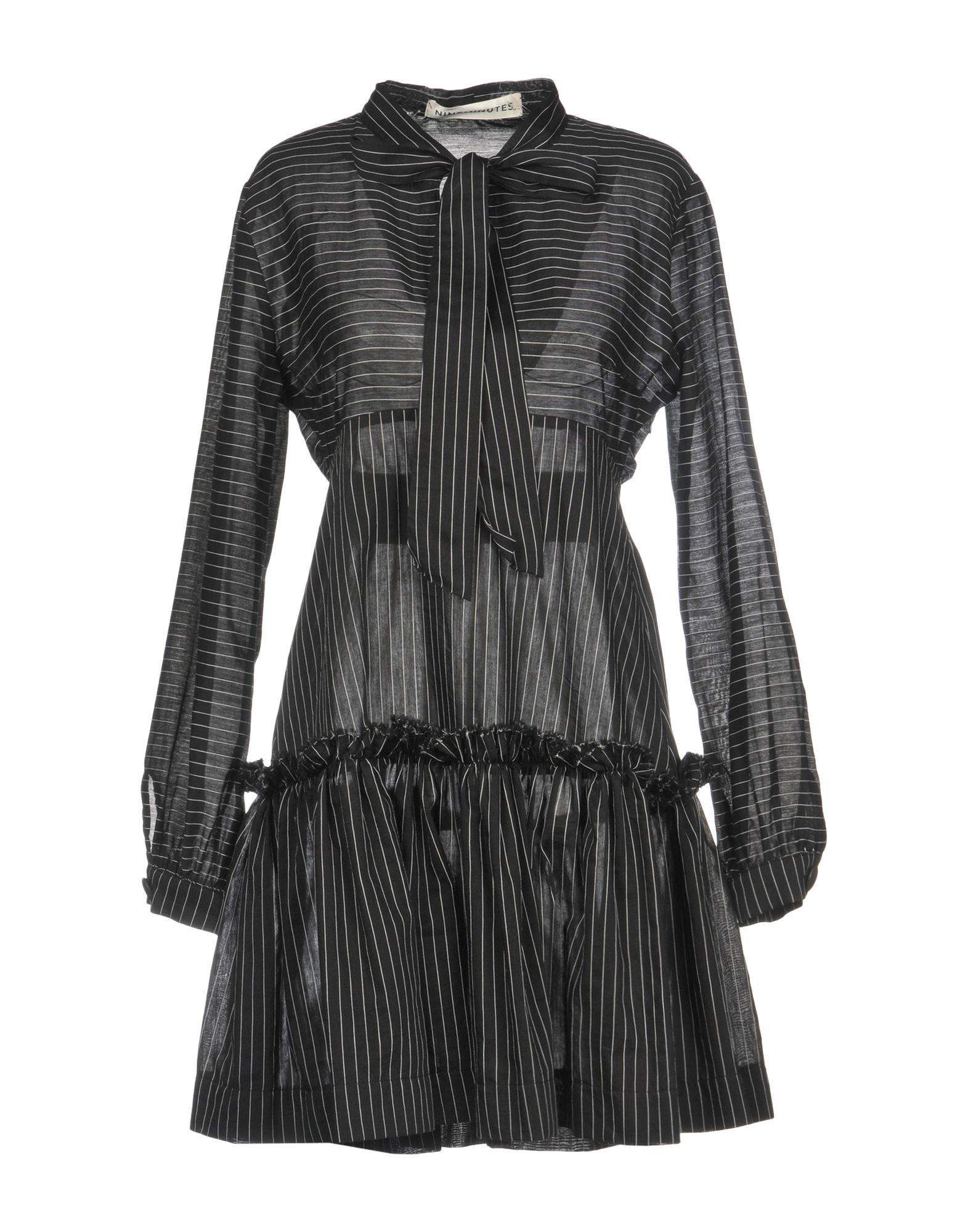 NINEMINUTES Короткое платье nineminutes джинсовая юбка