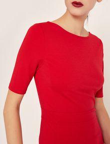 ARMANI EXCHANGE BOATNECK SCOOP-BACK BODYCON DRESS Midi dress Woman b