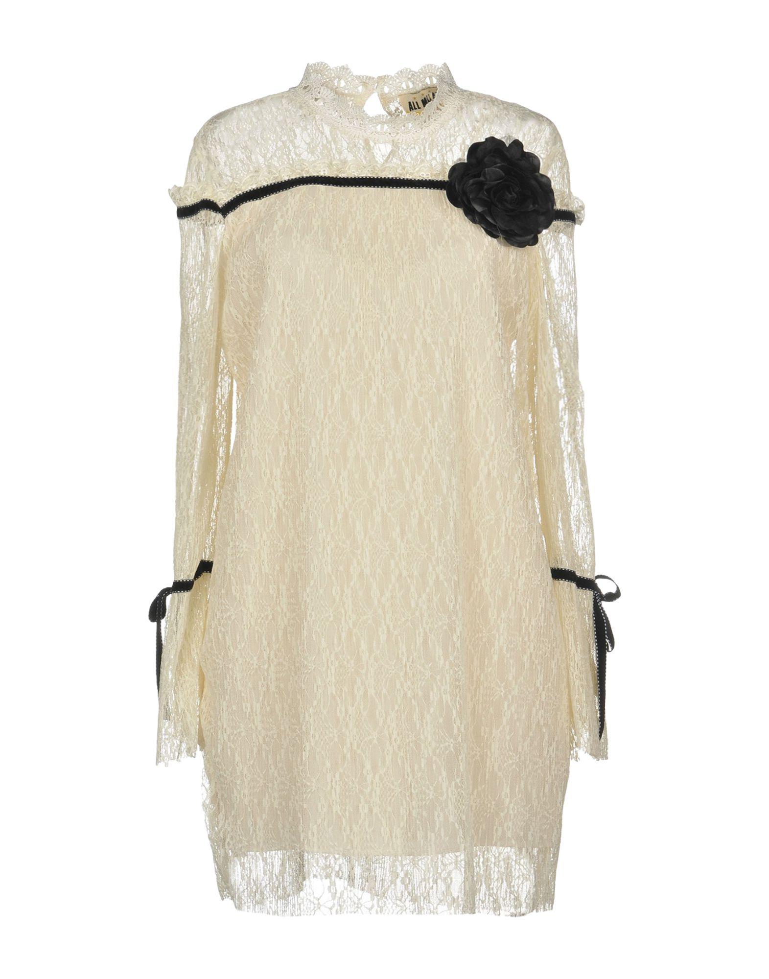 Фото - MUST Короткое платье брошь blucome bijouteria esmaltes 7106100495