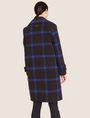 ARMANI EXCHANGE PLAID WOOL-BLEND COAT Coat [*** pickupInStoreShipping_info ***] e