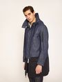 ARMANI EXCHANGE PARKA AUS DUNKLEM DENIM MIT COLORBLOCKS Parka Herren f