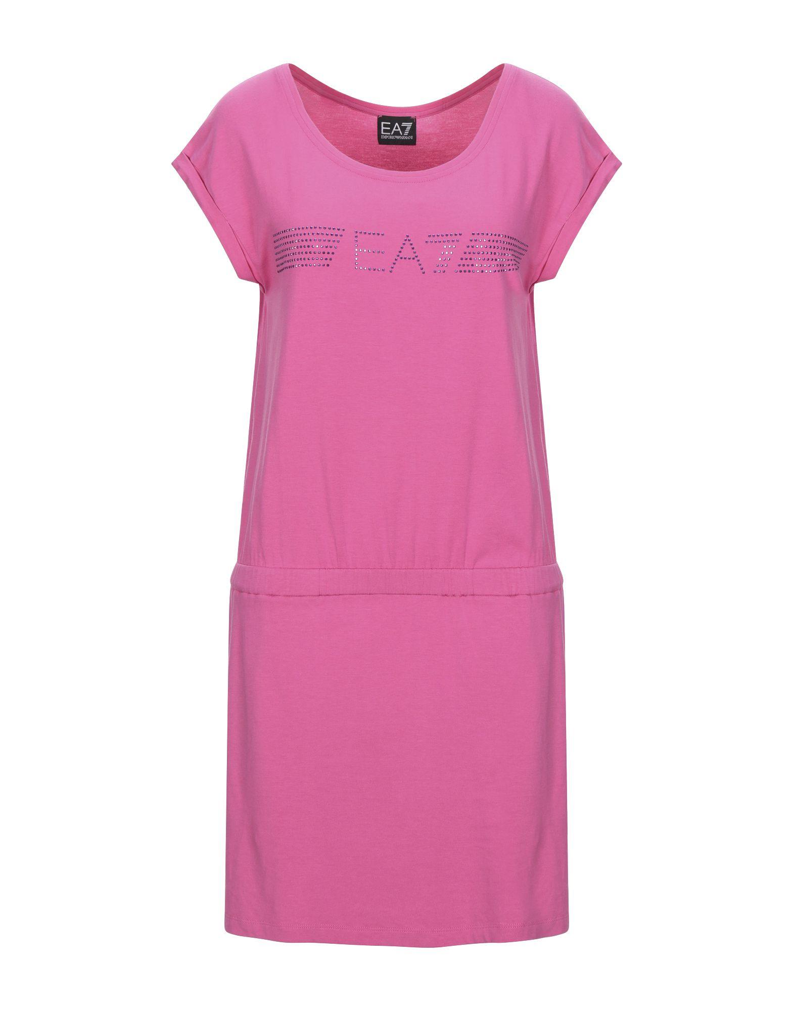 EA7 Короткое платье платье ea7 ea7 ea002ewrbc44