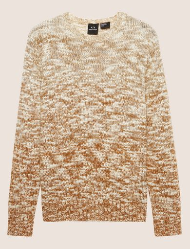 OMBRE MARLED WOOL-BLEND SWEATER