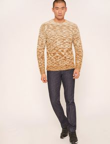 ARMANI EXCHANGE MAGLIONE IN MISTO LANA MÉLANGE EFFETTO OMBRÉ Crew Neck [*** pickupInStoreShippingNotGuaranteed_info ***] d