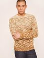 ARMANI EXCHANGE OMBRE MARLED WOOL-BLEND SWEATER Crew Neck Man f