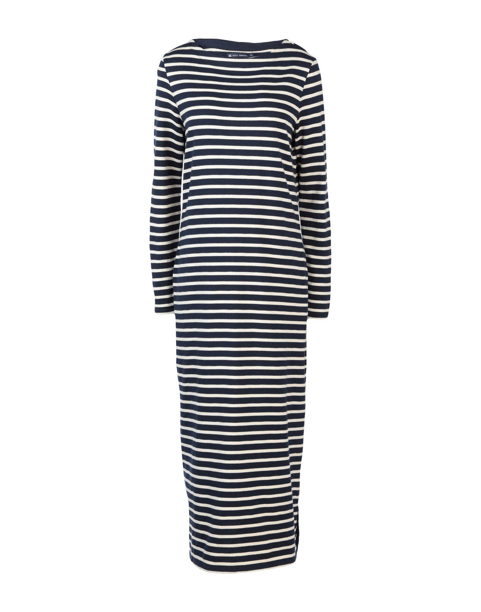 PETIT BATEAU Длинное платье petit bateau короткое платье