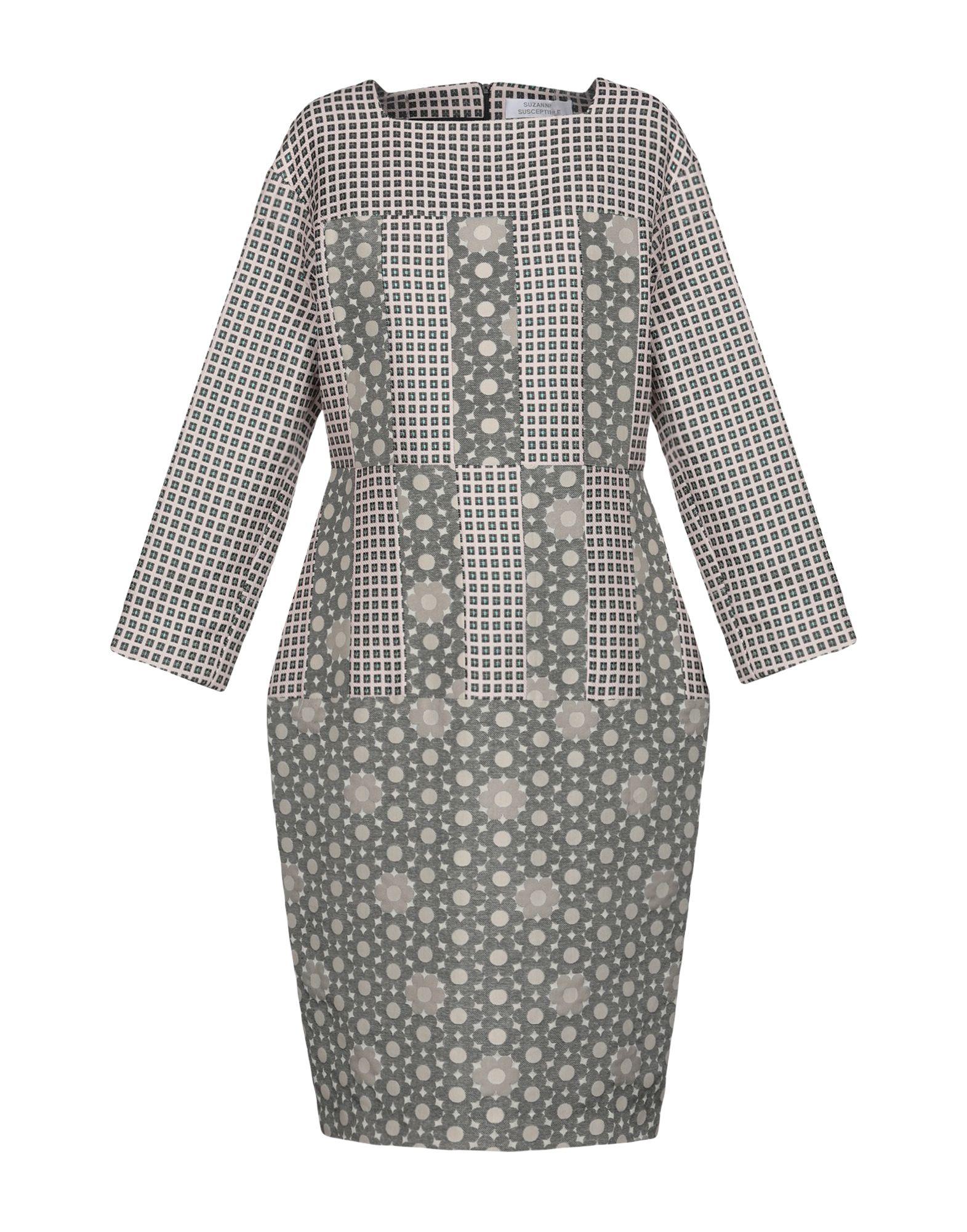 SUZANNE SUSCEPTIBLE Платье до колена цена 2017