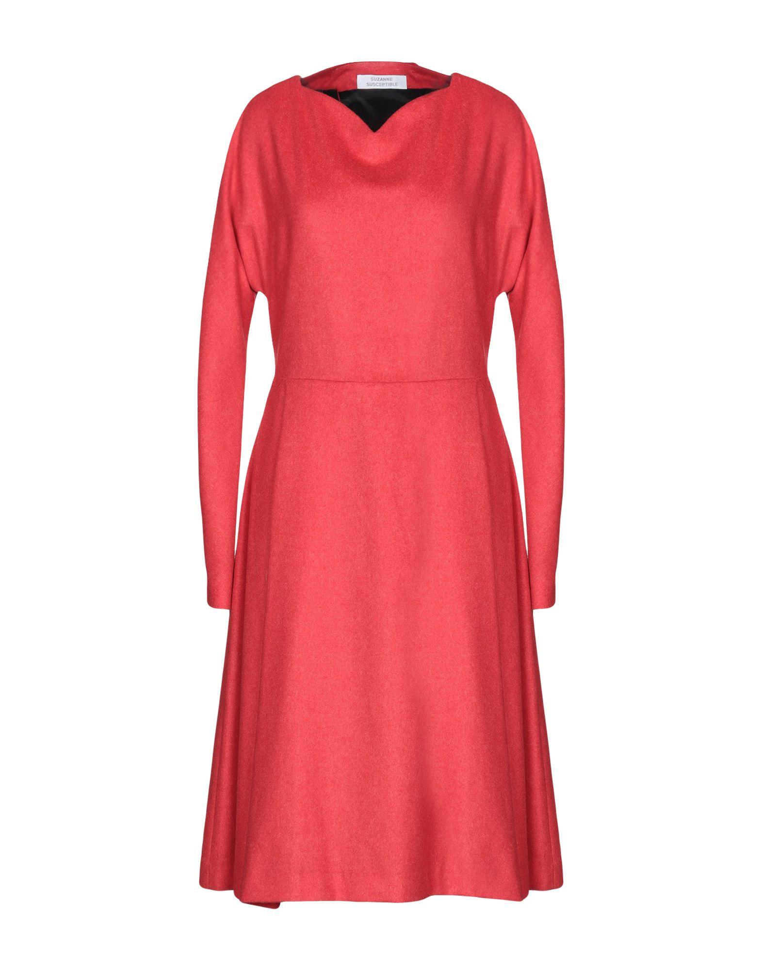 SUZANNE SUSCEPTIBLE Платье до колена suzanne vega bexhill