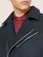 ARMANI EXCHANGE MELTON MOTO JACKET Blouson Jacket [*** pickupInStoreShippingNotGuaranteed_info ***] b