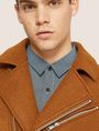 ARMANI EXCHANGE MELTON MOTO JACKET Blouson Jacket Man b
