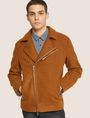 ARMANI EXCHANGE MELTON MOTO JACKET Blouson Jacket Man f