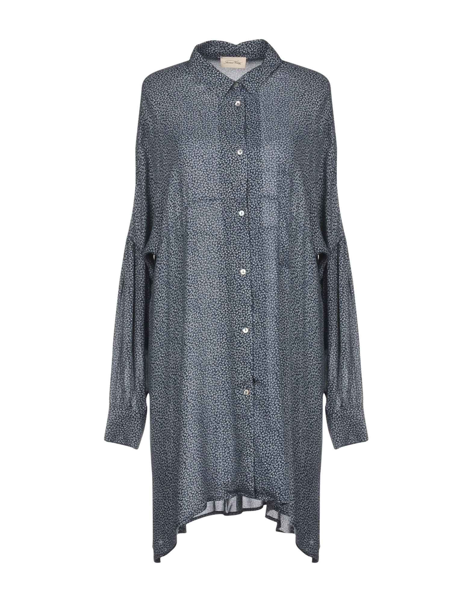 AMERICAN VINTAGE Короткое платье женская рубашка european and american big c002617 2015