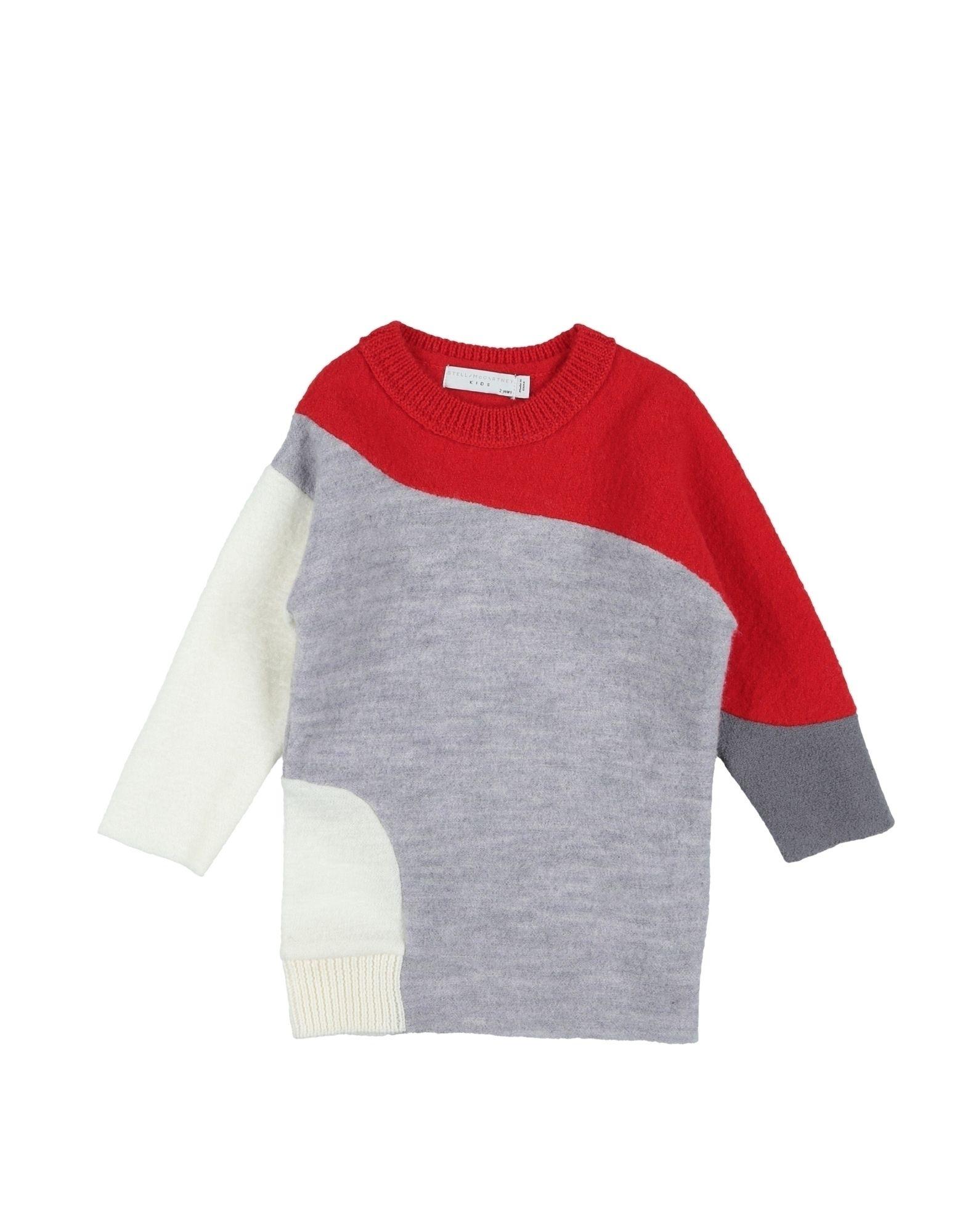 《送料無料》STELLA McCARTNEY KIDS ガールズ 0-24 ヶ月 ワンピース・ドレス ライトグレー 24 ウール 100%