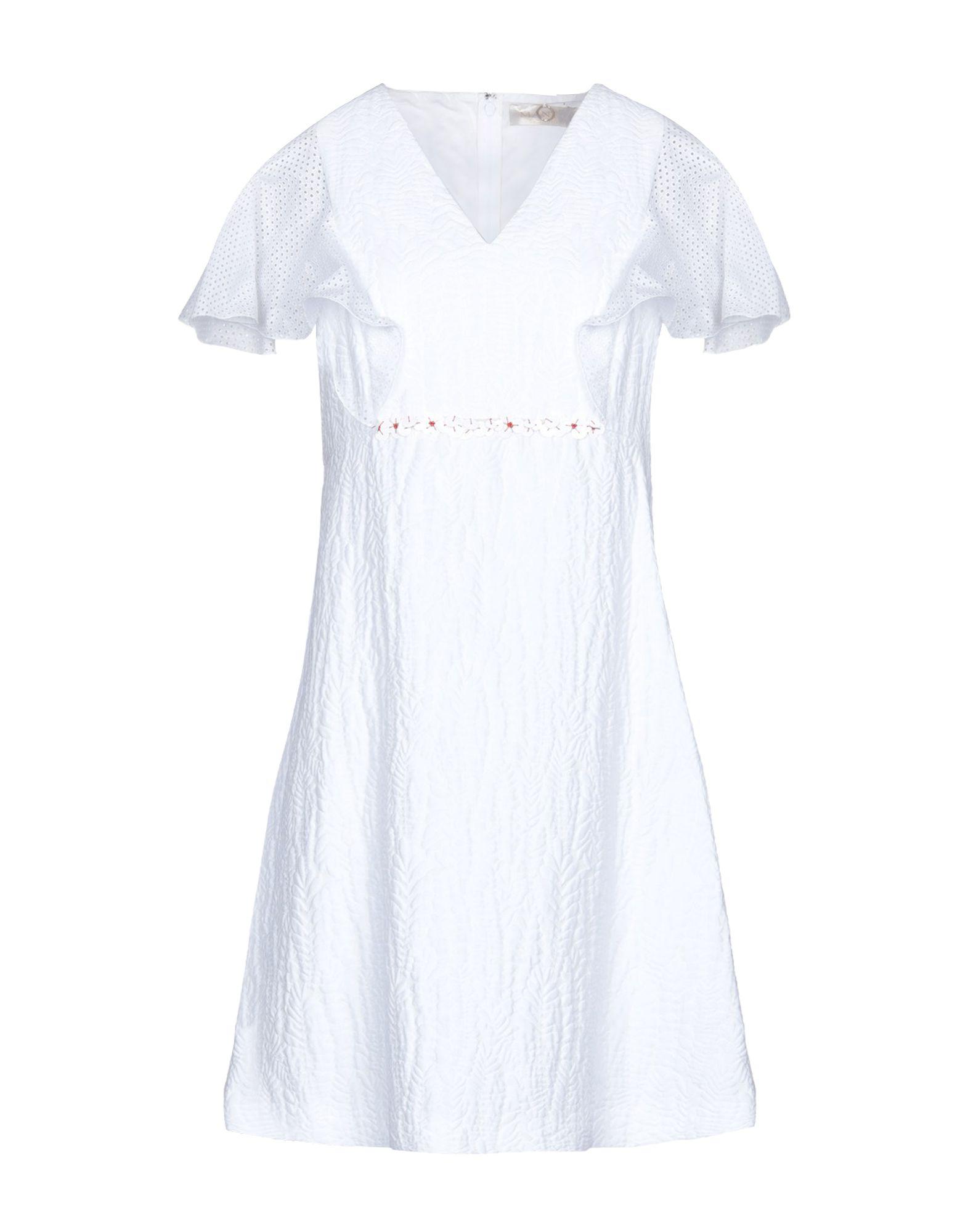 MANTÙ Короткое платье недорго, оригинальная цена