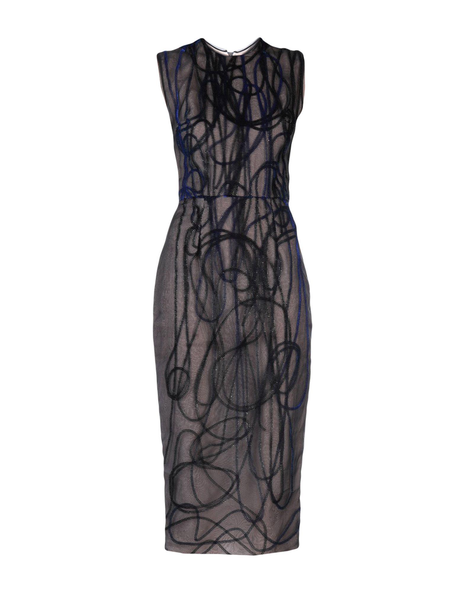 ROKSANDA Платье длиной 3/4 carbon fiber front bumper lip splitter spoiler for bmw 3 series gt f34 m sport bumper 4 door 14 17 grey frp 2pc 335i 340i gt