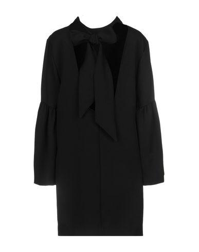 Фото 2 - Женское короткое платье WEILI ZHENG черного цвета