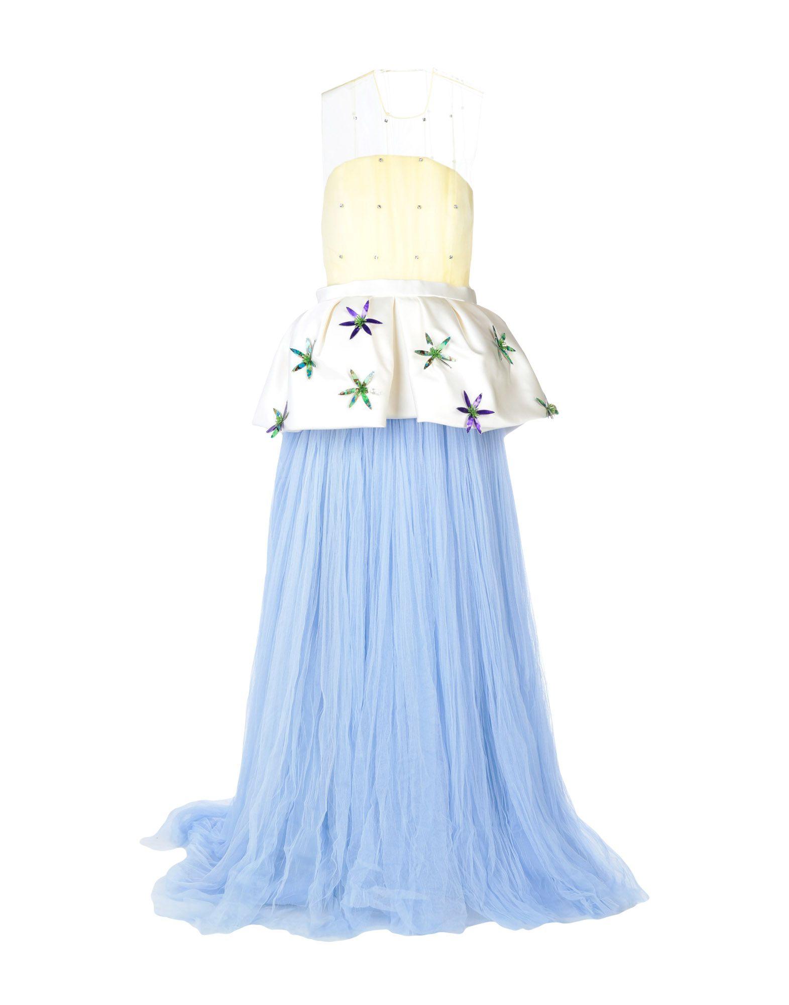 DELPOZO Длинное платье ingersoll in1616bk