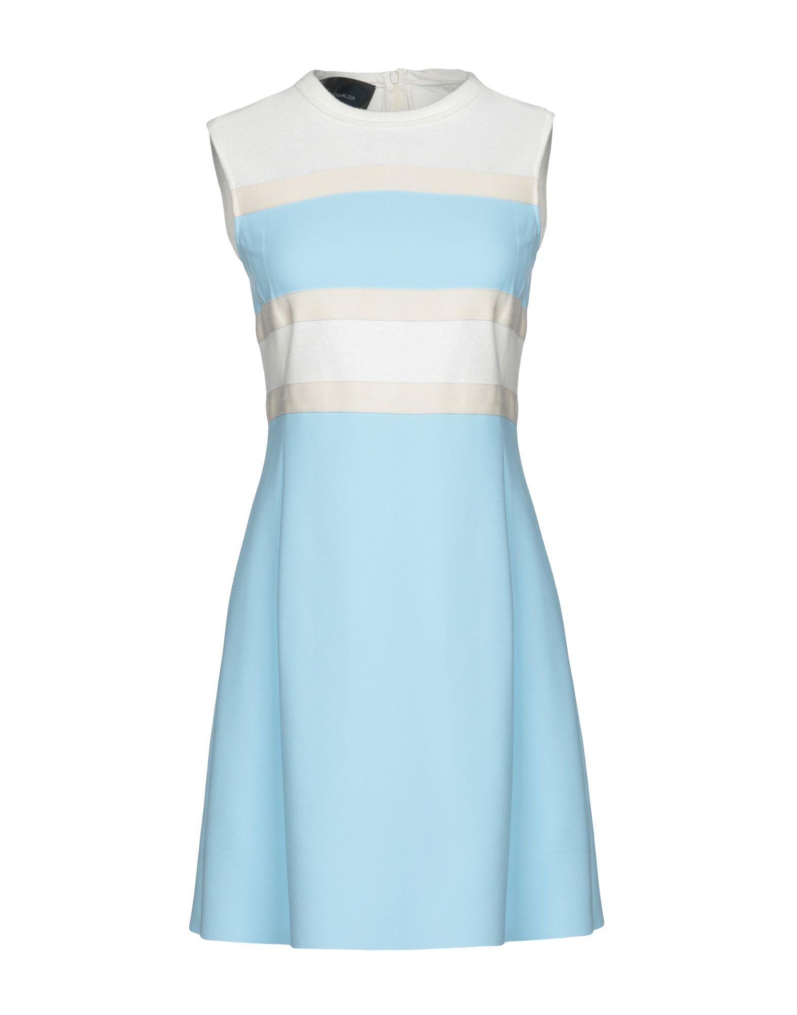 CEDRIC CHARLIER Короткое платье bering часы bering 11435 765 коллекция ceramic