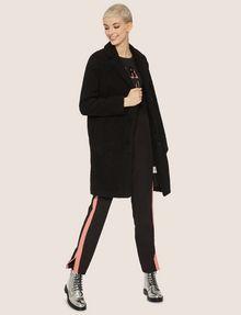 ARMANI EXCHANGE FAUX-SHERPA PEA COAT Coat Woman d