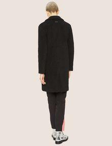 ARMANI EXCHANGE FAUX-SHERPA PEA COAT Coat Woman e