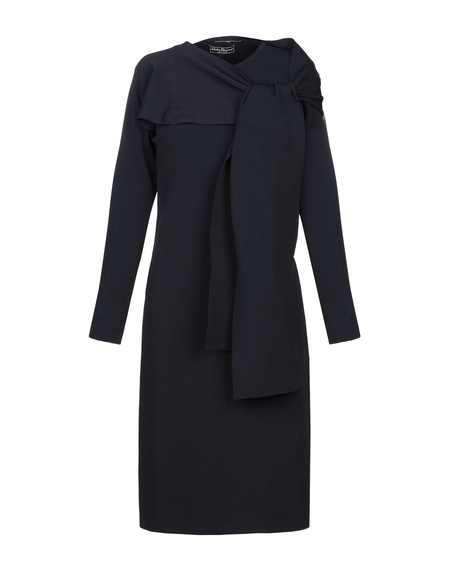 купить SALVATORE FERRAGAMO Платье до колена по цене 43850 рублей