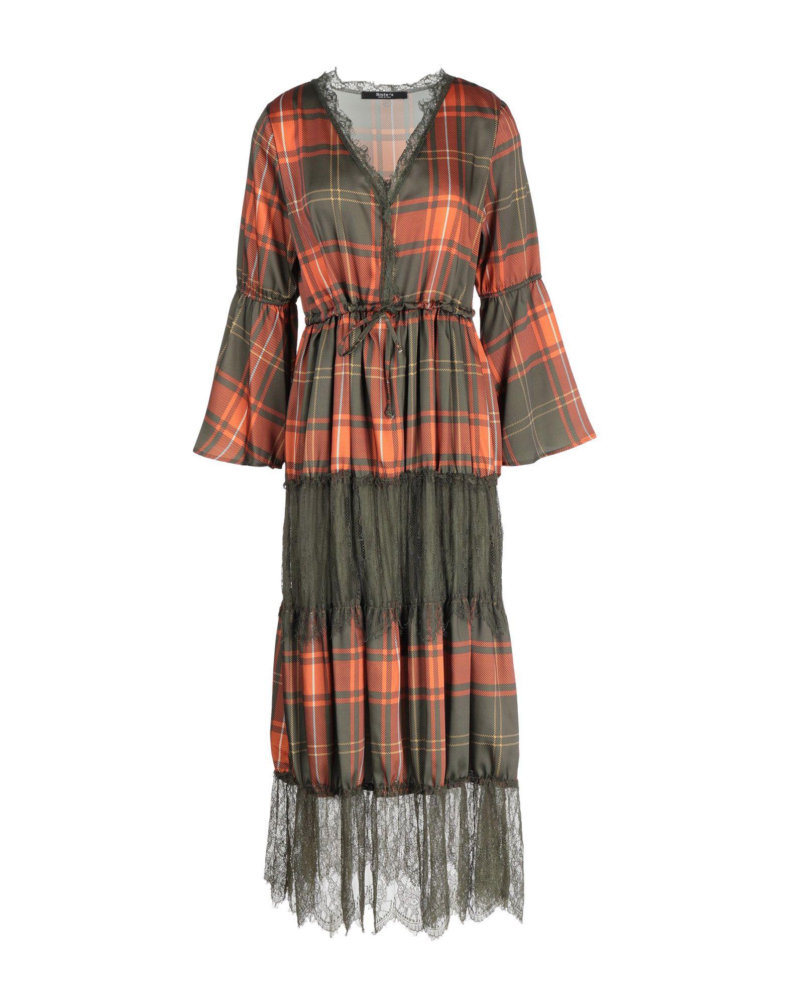 SISTE' S Платье длиной 3/4 sexy v neck 3 4 sleeve loose fitting spliced women s cover up