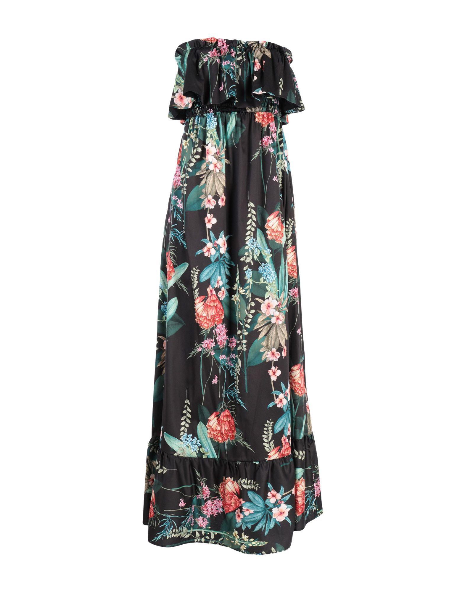 MARIAGRAZIA PANIZZI Длинное платье цена 2017