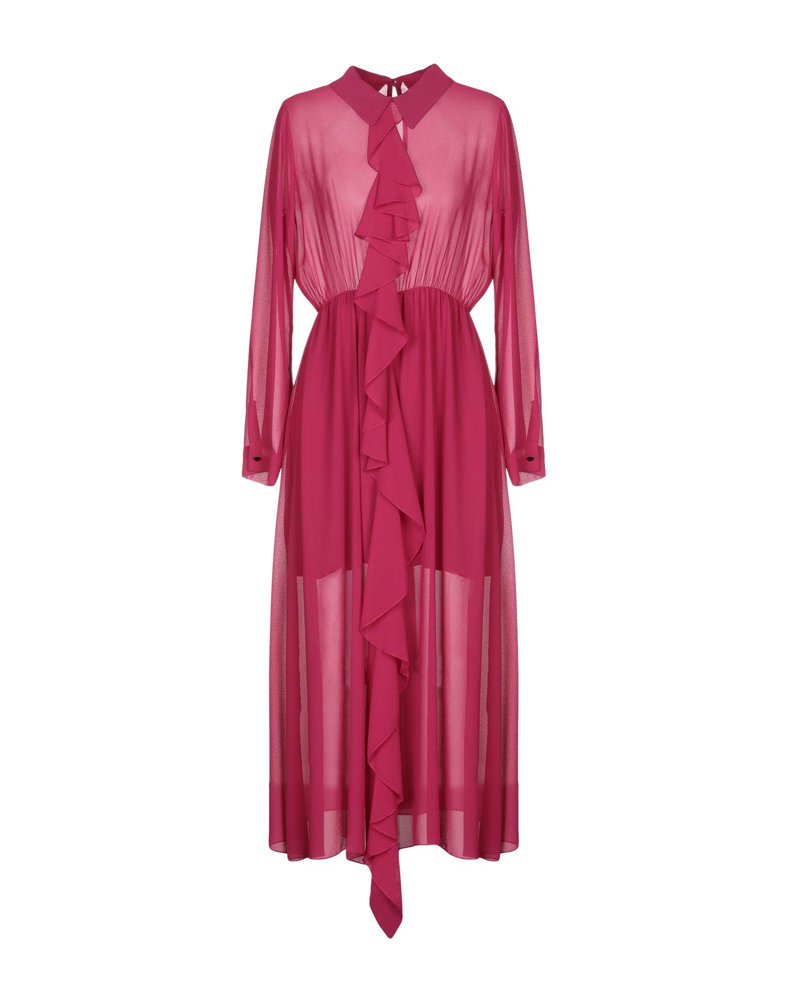 SOUVENIR Платье длиной 3/4 souvenir джинсовая рубашка