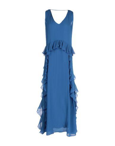 Фото - Женское длинное платье KATIA G. пастельно-синего цвета
