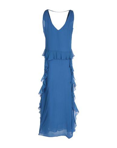Фото 2 - Женское длинное платье KATIA G. пастельно-синего цвета