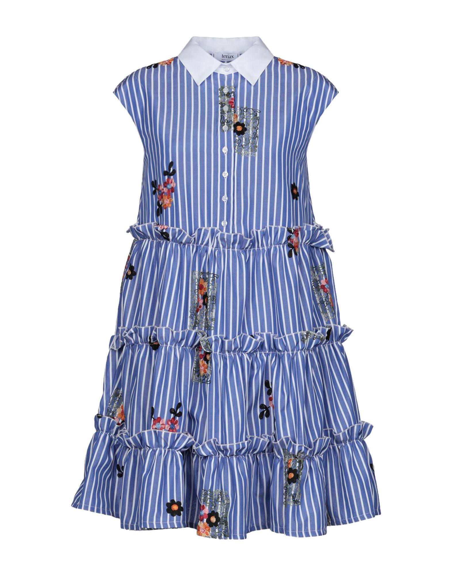 TENAX Короткое платье tenax длинное платье
