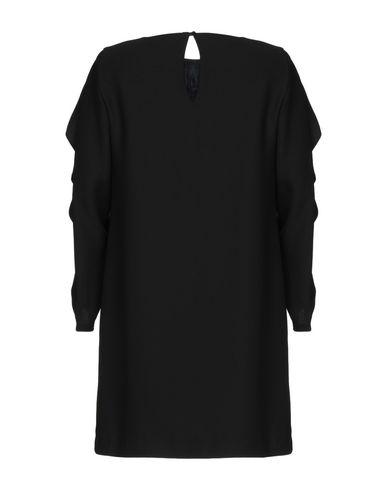 Фото 2 - Женское короткое платье KATIA G. черного цвета