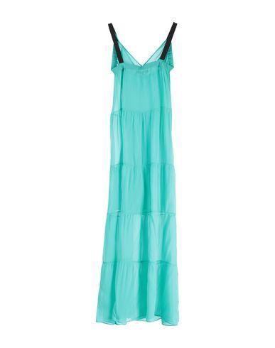 Фото 2 - Женское длинное платье KATIA G. светло-зеленого цвета