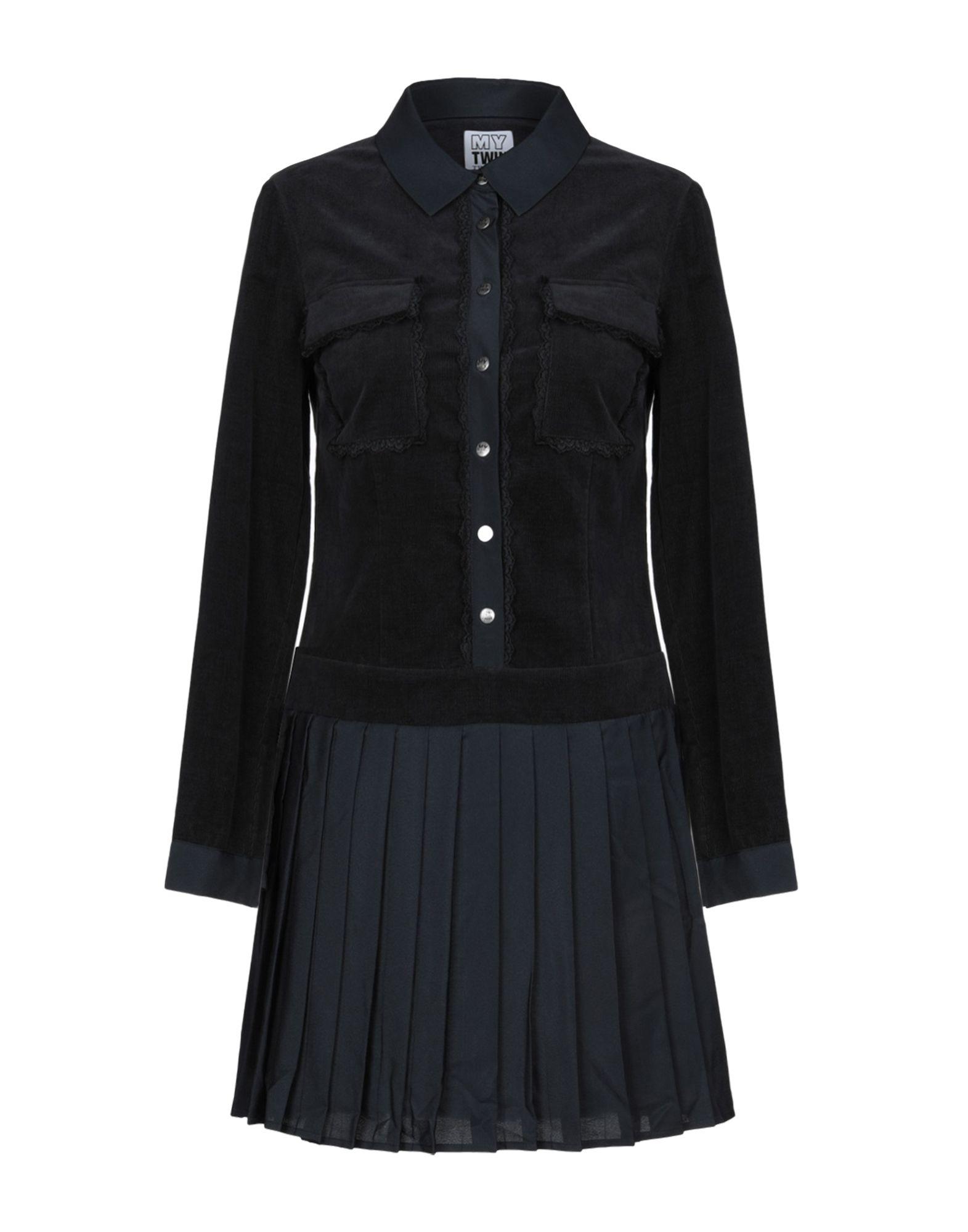 MY TWIN TWINSET Короткое платье рубашка my twin twinset рубашка