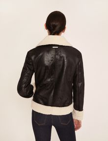 ARMANI EXCHANGE TUMBLED FAUX-SHERPA JACKET Blouson Jacket [*** pickupInStoreShipping_info ***] e