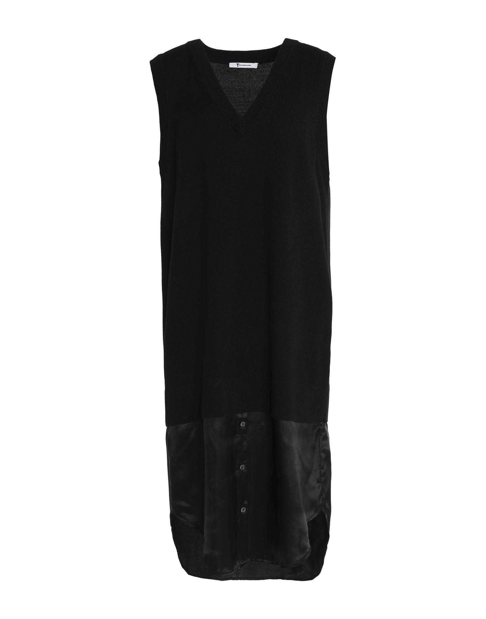 T by ALEXANDER WANG Платье до колена цена 2017