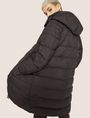 ARMANI EXCHANGE HOODED DOWN-FILL LONG PUFFER PUFFER JACKET Woman a