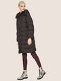 ARMANI EXCHANGE HOODED DOWN-FILL LONG PUFFER PUFFER JACKET Woman d