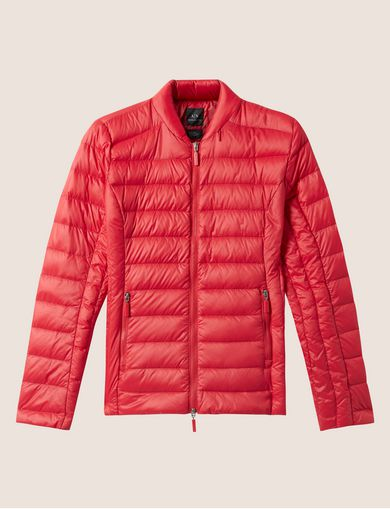 ULTRALIGHT SHAWL-COLLAR PUFFER JACKET