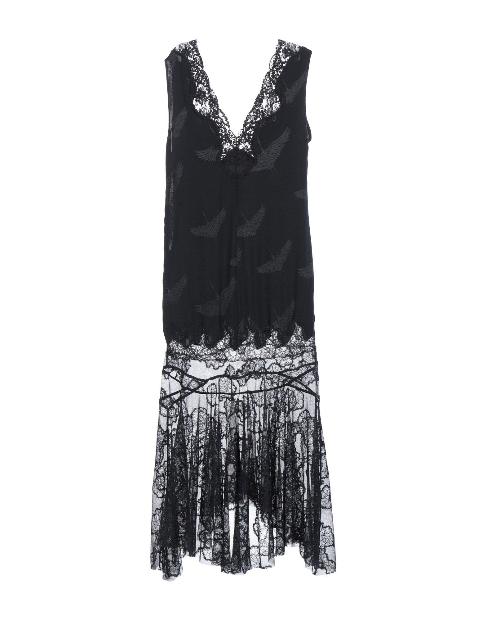 fcbdd27aa28 SANDRO WW8012C0D Длинное платье 2B08F320782 Одежда Платья ...