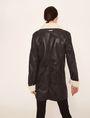 ARMANI EXCHANGE TUMBLED FAUX-SHERPA COAT Jacket Woman e