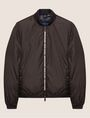 ARMANI EXCHANGE BICOLOR LOGO TAPE DOWN-FILL BOMBER PUFFER JACKET [*** pickupInStoreShippingNotGuaranteed_info ***] r