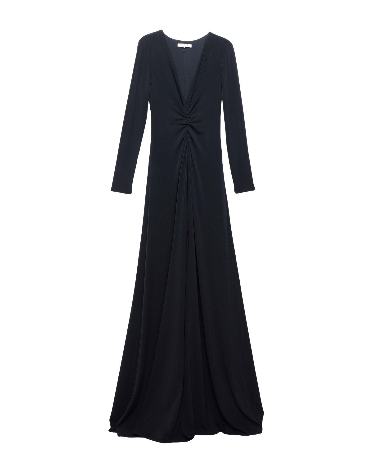 купить HALSTON HERITAGE Длинное платье по цене 7750 рублей