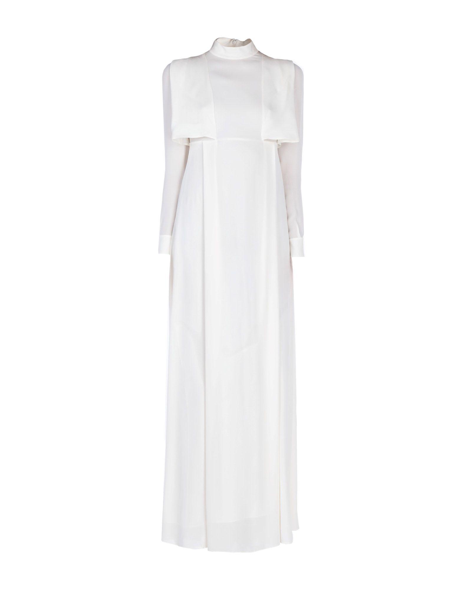 цена VALENTINO Длинное платье онлайн в 2017 году