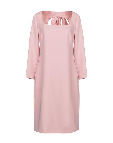 Купить Платье до колена розового цвета