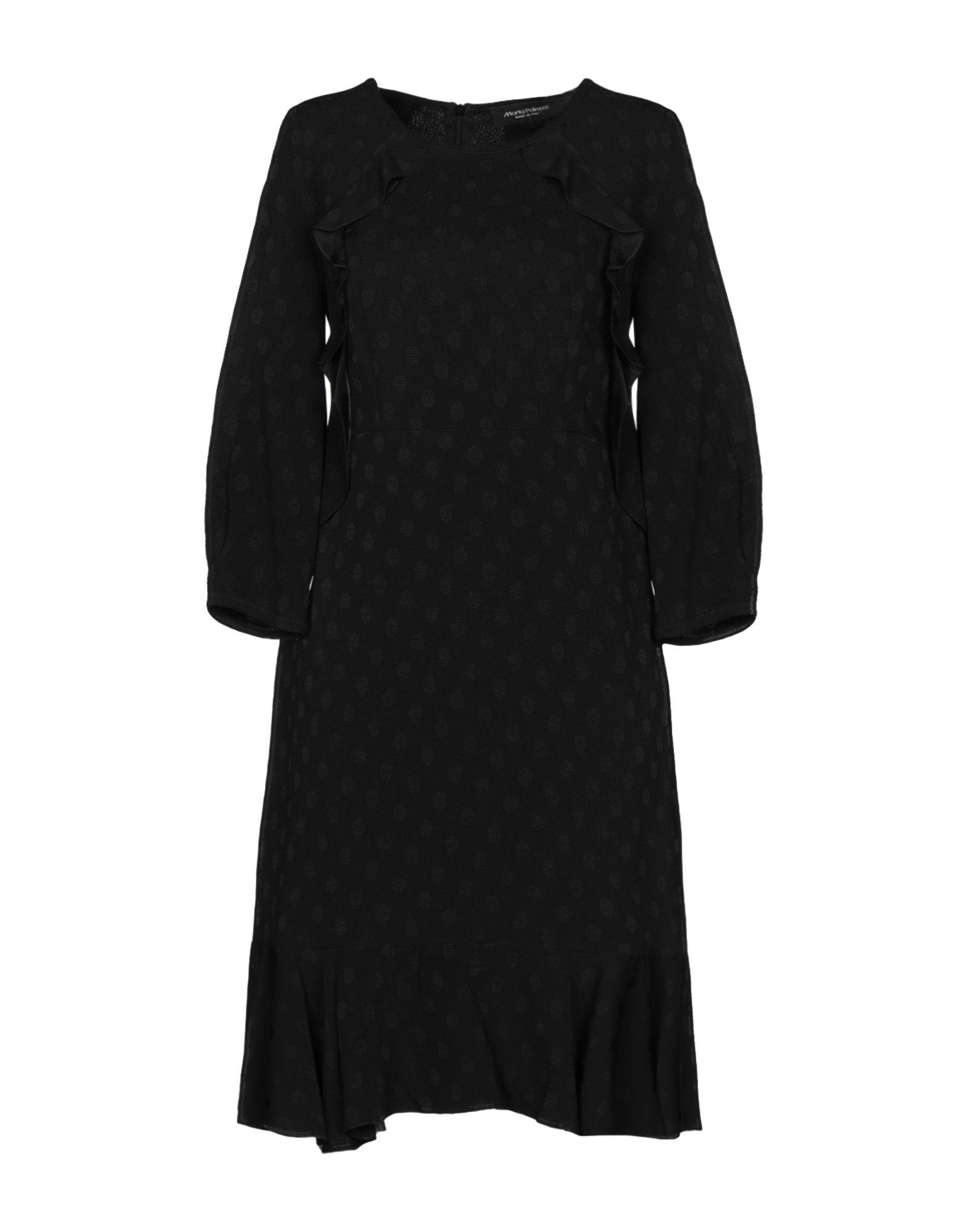 《セール開催中》MARTA PALMIERI レディース ミニワンピース&ドレス ブラック 42 レーヨン 100%