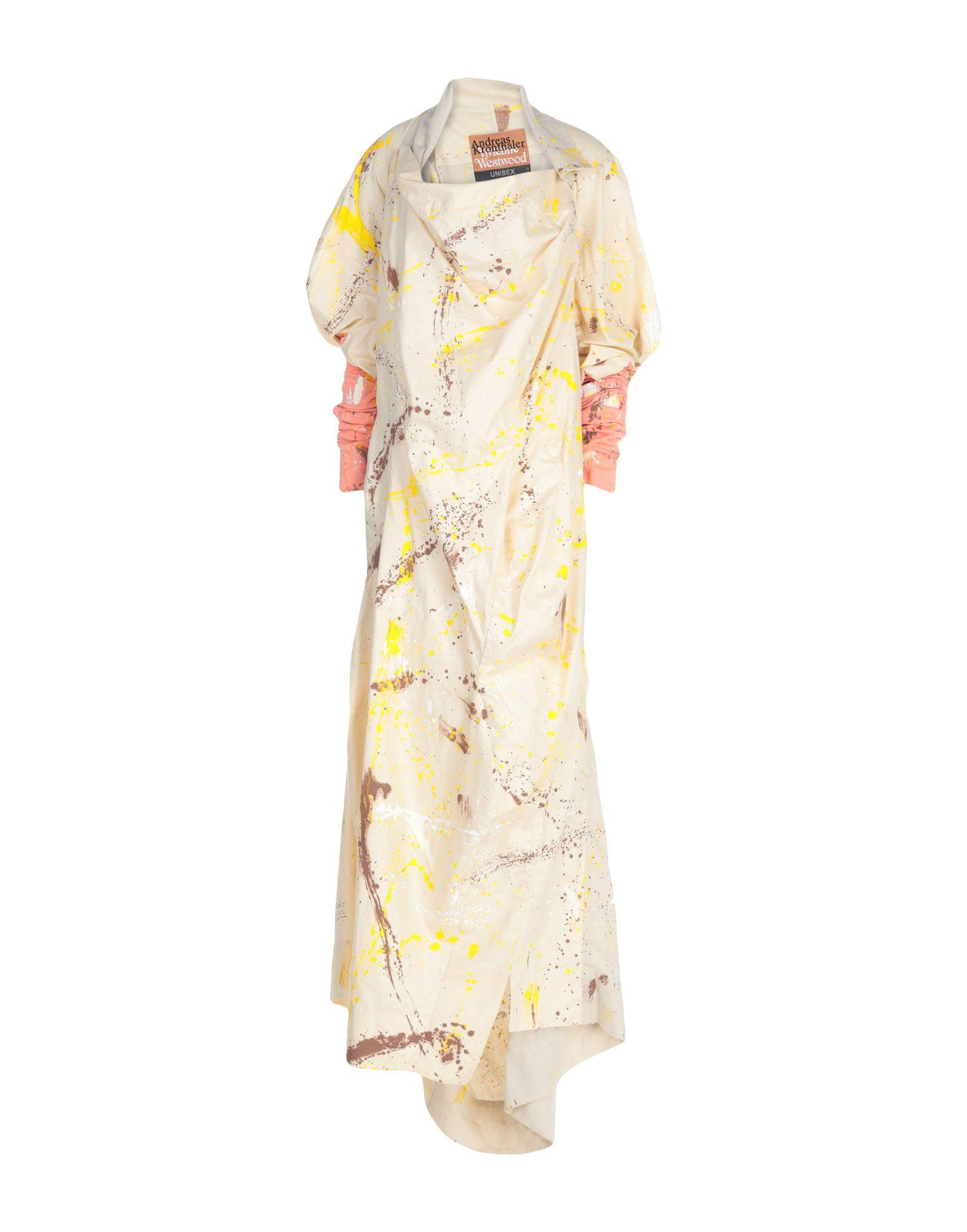 《送料無料》ANDREAS KRONTHALER for VIVIENNE WESTWOOD レディース ロングワンピース&ドレス ベージュ II コットン 100%